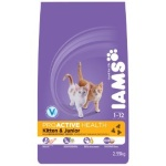 IAMS® PROACTIVE HEALTH™ KITTEN & JUNIOR ДЛЯ КОТЯТ С КУРИЦЕЙ