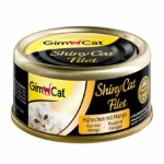 Shiny Cat Filet конс 70гр д/к Цыпленок с манго