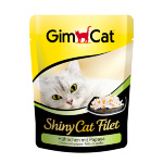 Shiny Cat Filet пауч 70гр д/к Тунец с крабом