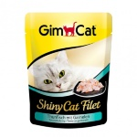 Shiny Cat Filet пауч 70гр д/к Тунец с креветками